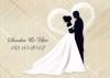 Ballonkarte zur Hochzeit Nr. 5 | ©IhreHochzeitstauben