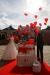 Tauben und Ballons zur Hochzeit Schloss Oberhausen 2   ©ihrehochzeitstauben
