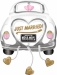 F11 - Folienballon Auto Just Married