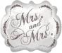 F10 - Folienballon Mrs and Mrs