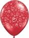 RMA16 - Swirl Hearts Ruby Red