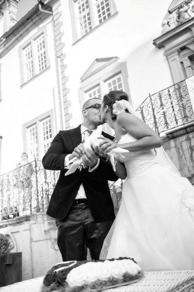 Hochzeitstauben bei Sarah und Pietro Lombardi 4 | ©kamermitherz