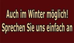 Auch im Winter buchbar!