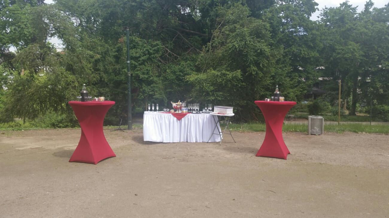 Sektempfang am Hofgarten Düsseldorf