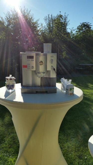 Kaffee Automat Sektempfang