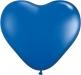 Herzballon Blau | ©IhreHochzeitstauben