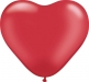 Herzballon Rot | ©IhreHochzeitstauben