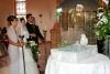 Pfauentauben bei orthodoxen Hochzeit © Uwe Stoffel