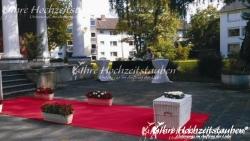 Sektempfang in Bad Godesberg | © Ihre Hochzeitstauben®