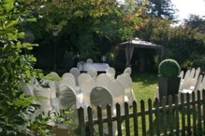 Pavillon zur Hochzeit Parkhotel Velbert