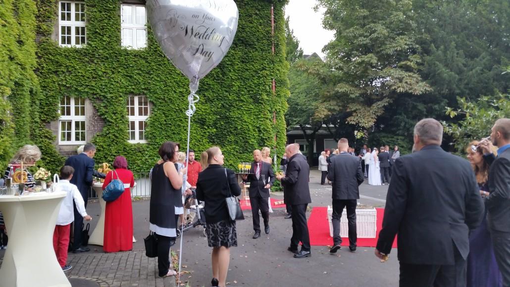 Ballon zur Hochzeit