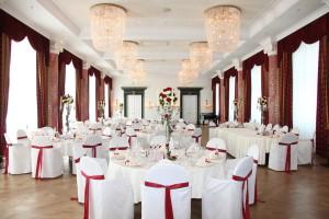 Der große Ballsaal des Grandhotel Schloss Bensberg