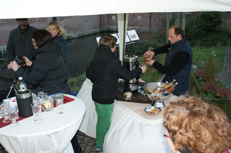 Glühwein Empfang in Raesfeld