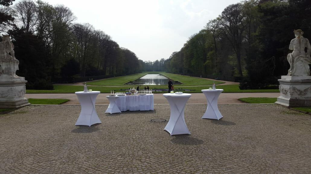 Sektempfang zur Hochzeit in Düsseldorf