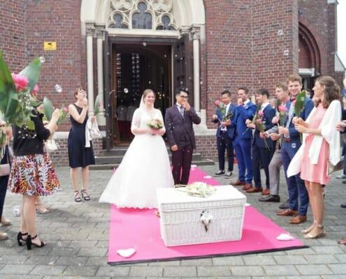 Tauben zur Hochzeit in Heinsberg Bild 3