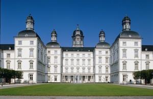 Frontansicht des Grandhotel Schloss Bensberg