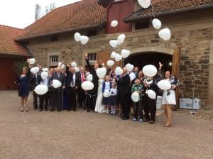 Ballons zur Hochzeit in Rahden
