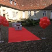 Ballons und Sekt in Tecklenburg