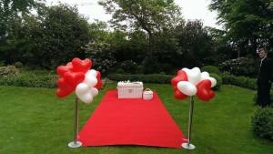 Hochzeitstauben und Ballonservice